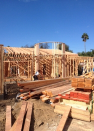 High End Residential Carpentry job in Van Nuys, CA by Miravalle General Contractor