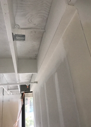 Commercial Drywall job in Santa Ana, CA by Paradigm Drywall