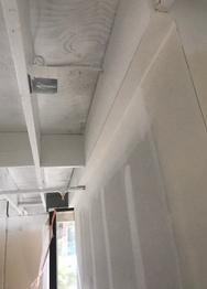 Commercial Drywall job in Santa Ana, CA by Paradigm Drywall