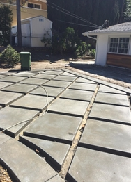 Remodel Concrete job in Woodland Hills, CA by Javier Moreno
