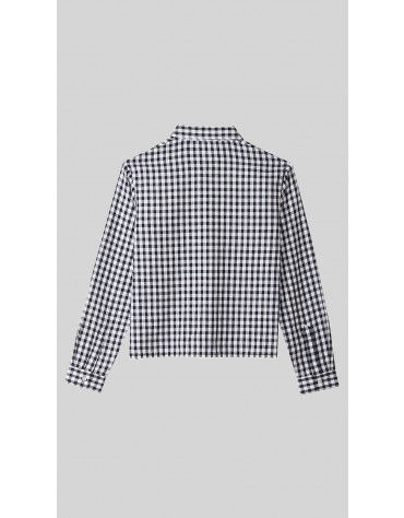Beyond Clouds - Teen Girls Gingham Button Down Shirt
