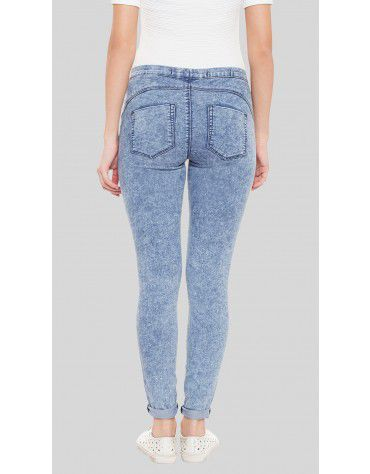 SbuyS  - Washed Light Blue Jegging