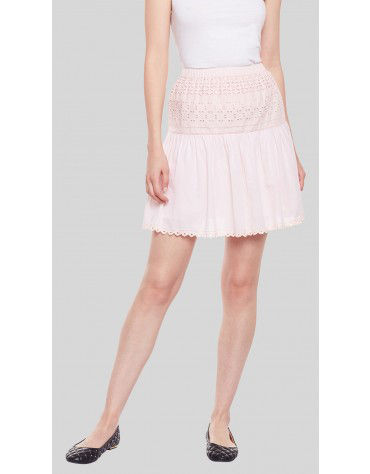 SbuyS  - Broderie Mini Skirt