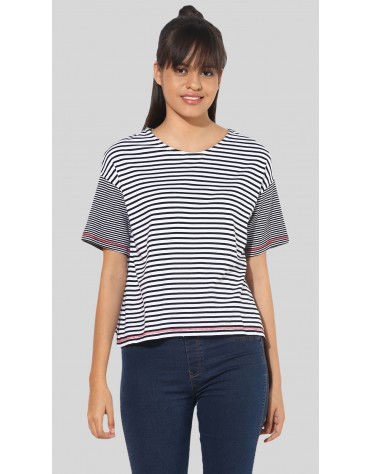 SbuyS - Striper Boxy T-Shirt