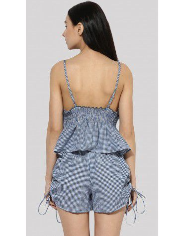 SbuyS - Gingham Cami Top