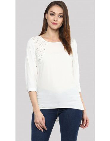 Sbuys - Embellished Blouse