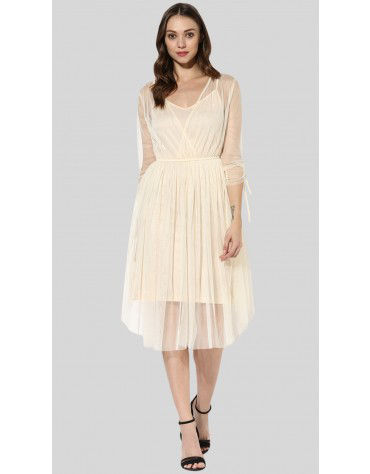 SbuyS  - Tulle Maxi Dress