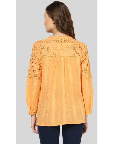 SbuyS - Schiffly Yoke Peasant Top