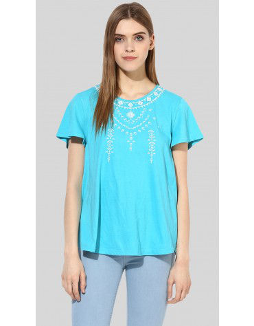 Sbuys - Embroidered Swing Top