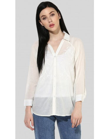 SbuyS  - Embroidered Button Down Shirt