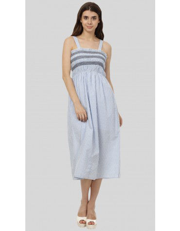 SbuyS - Smocked Midi Dress