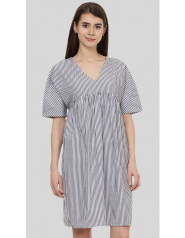 SbuyS - V Neck Stripe Dress