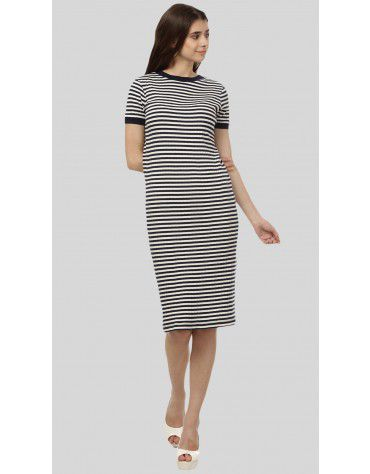 SbuyS - Stripe Bodycon Dress