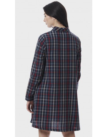 SbuyS - Check Shirt Dress