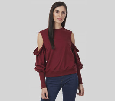 SbuyS Young Women's Off /Cold Shoulder