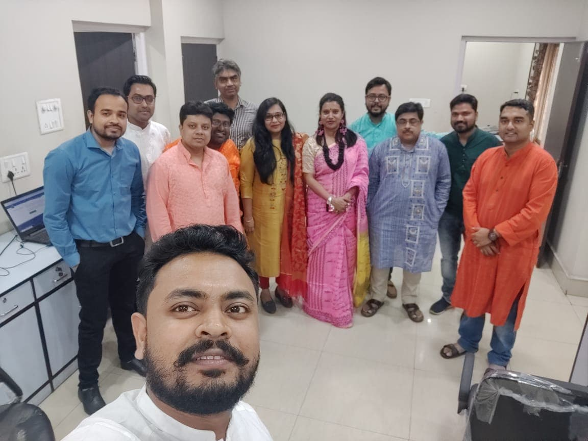 Ethnic on the occasion of Saraswati Puja 2
