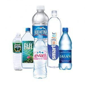 Among the daily bottled waters we are drinking, there's a couple of common types which are the following