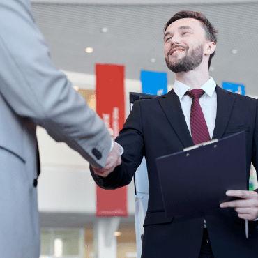 be a salesman