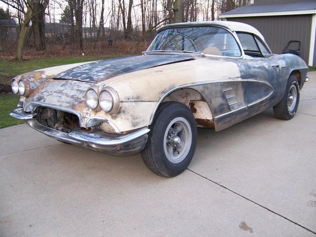 1961 Chevrolet Corvette project car