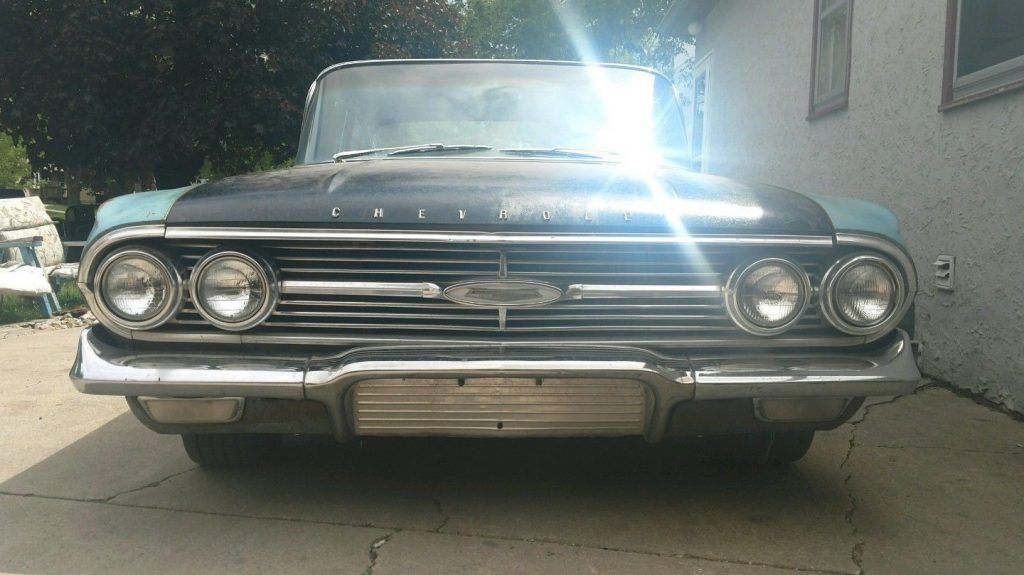 Fair condition 1960 Chevrolet Bel Air/150/210 project