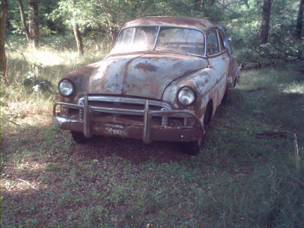 original wheels 1950 Chevrolet Bel Air/150/210 project