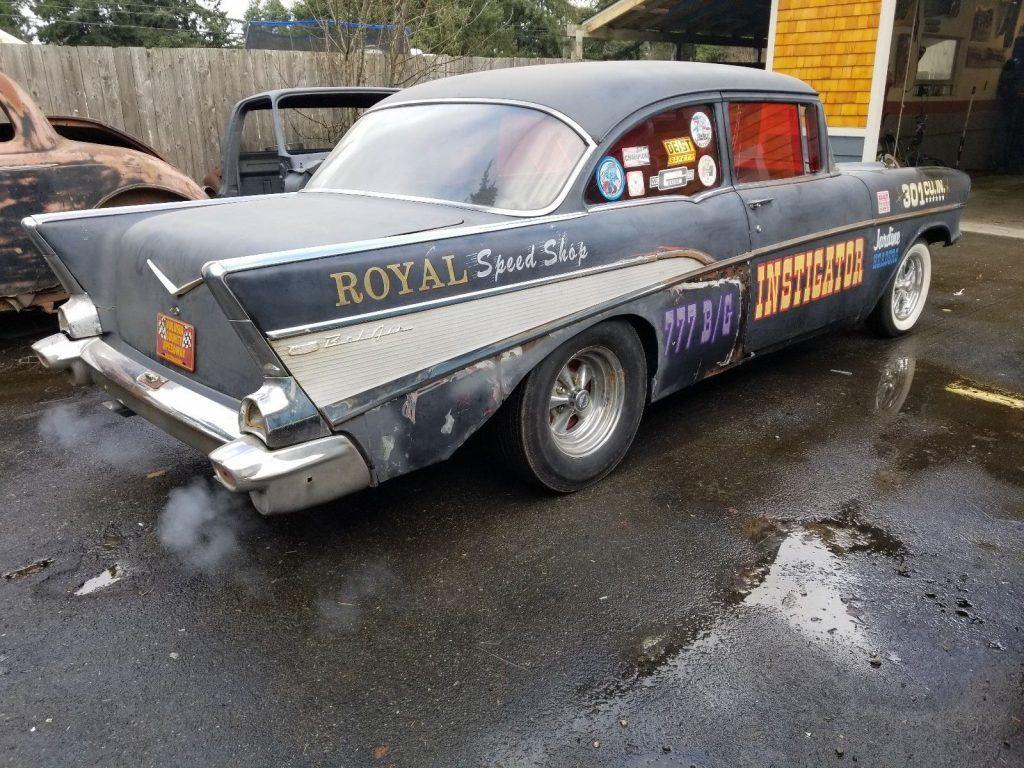 needs TLC 1957 Chevrolet Bel Air/150/210 hot rod project