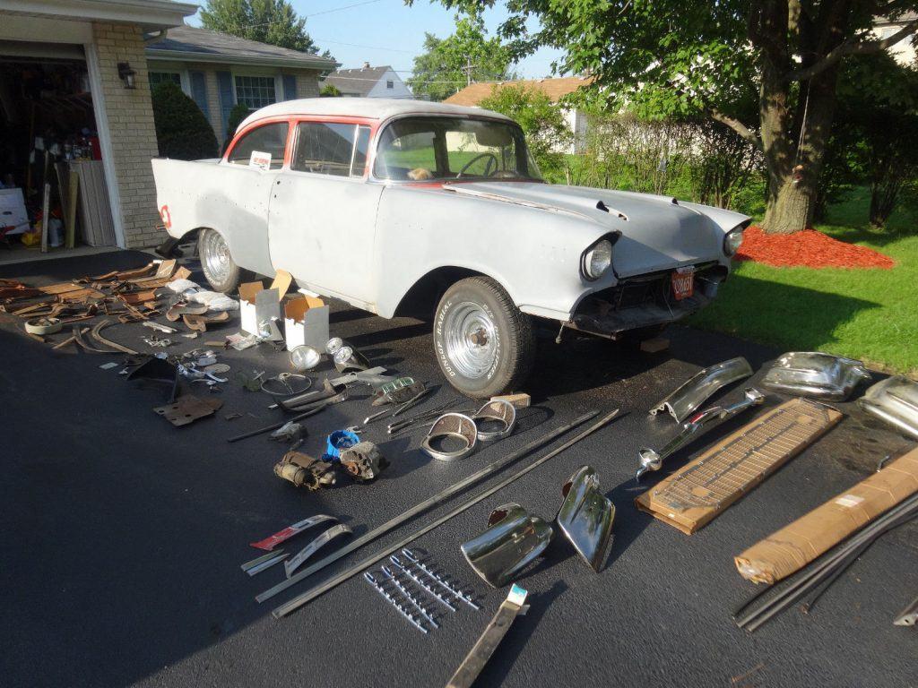 new parts 1957 Chevrolet Bel Air/150/210 project