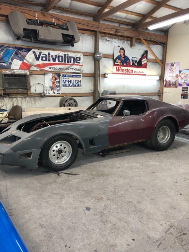 pro street 1971 Chevrolet Corvette project