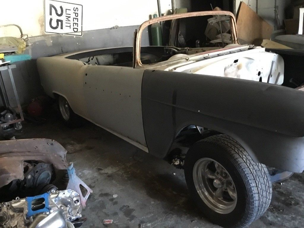 solid 1955 Chevrolet Bel Air Convertible project