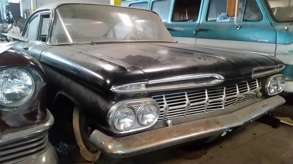 solid 1959 Chevrolet Biscayne Project