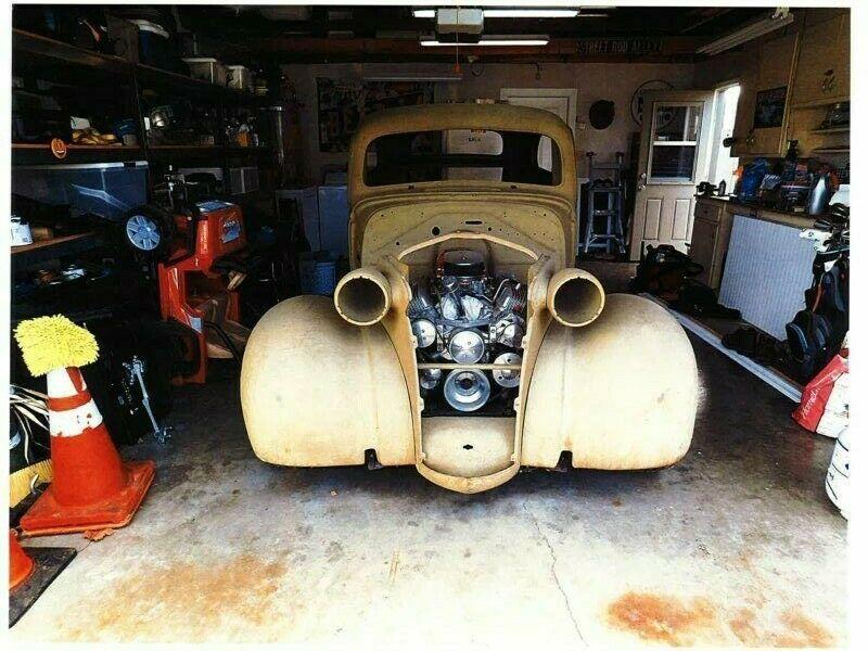 hot rod 1938 Chevrolet Chevy 2 door Sedan project