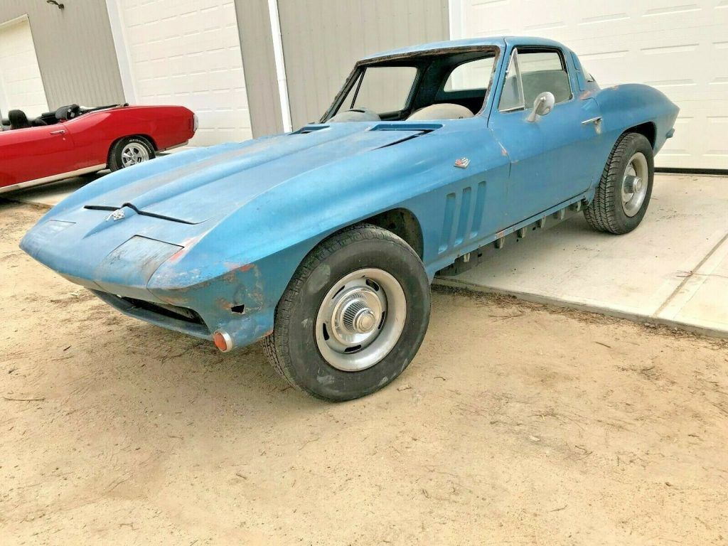 barn find 1965 Chevrolet Corvette project
