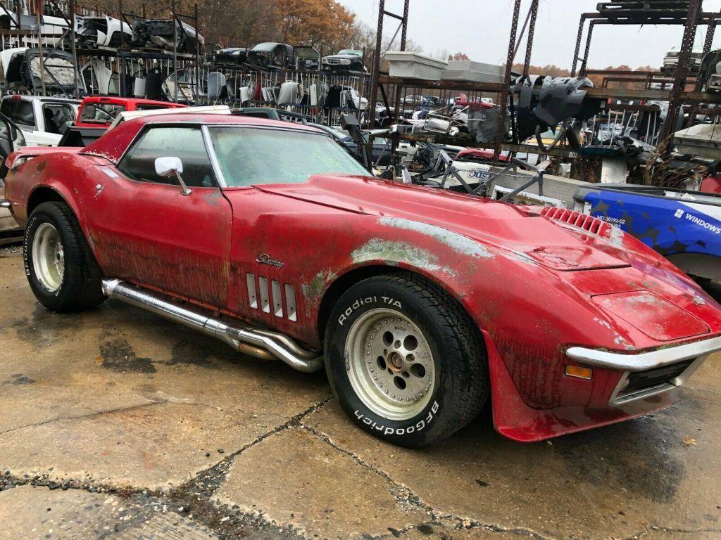 needs work 1969 Chevrolet Corvette 2 Door project