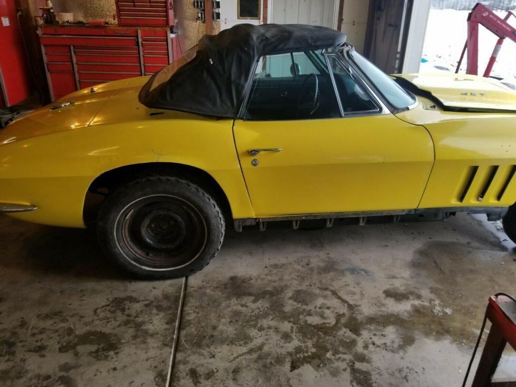 rebuilt engine 1965 Chevrolet Corvette project