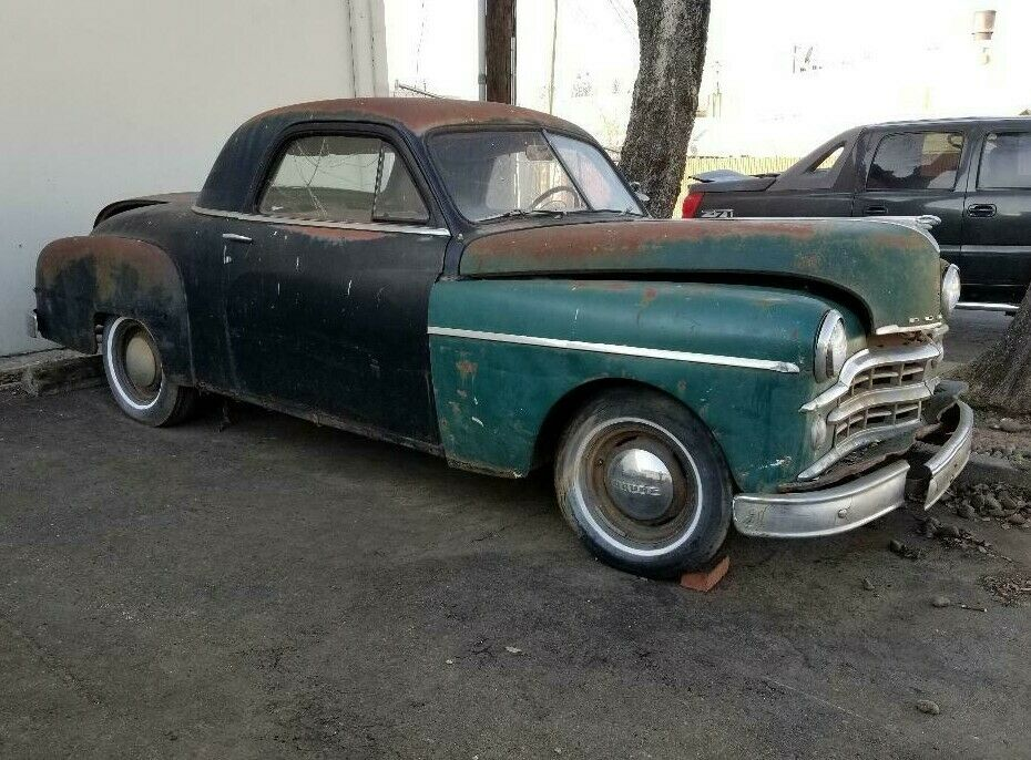 business coupe 1949 Dodge Wayfarer project