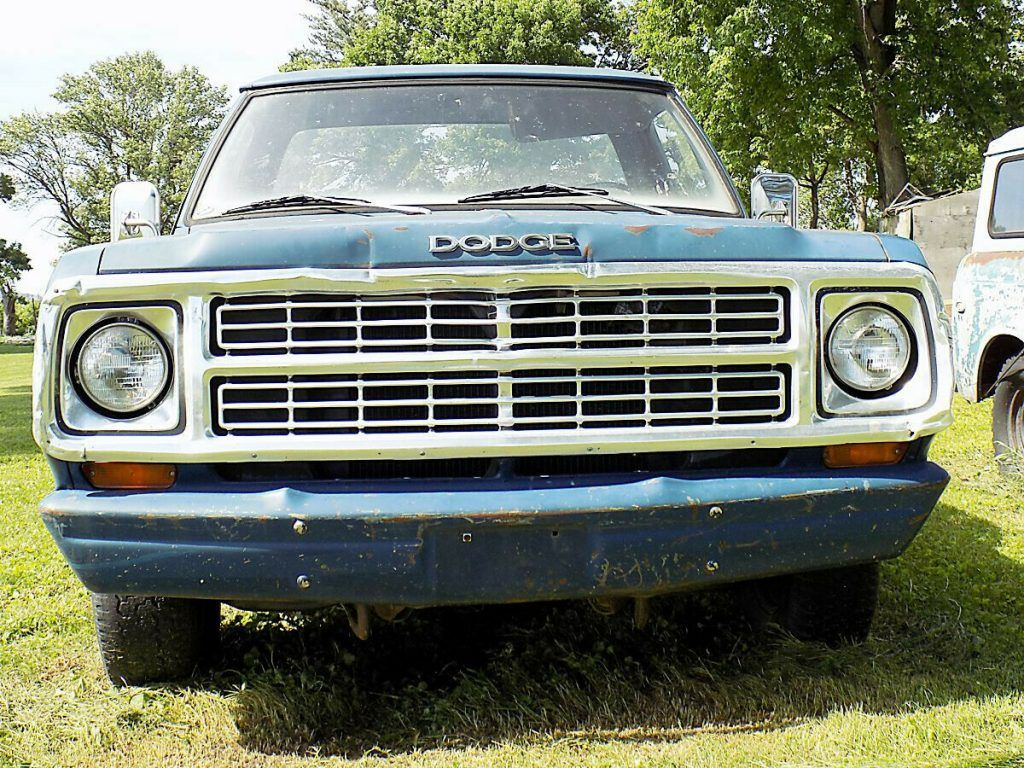 new parts 1979 Dodge Pickup project
