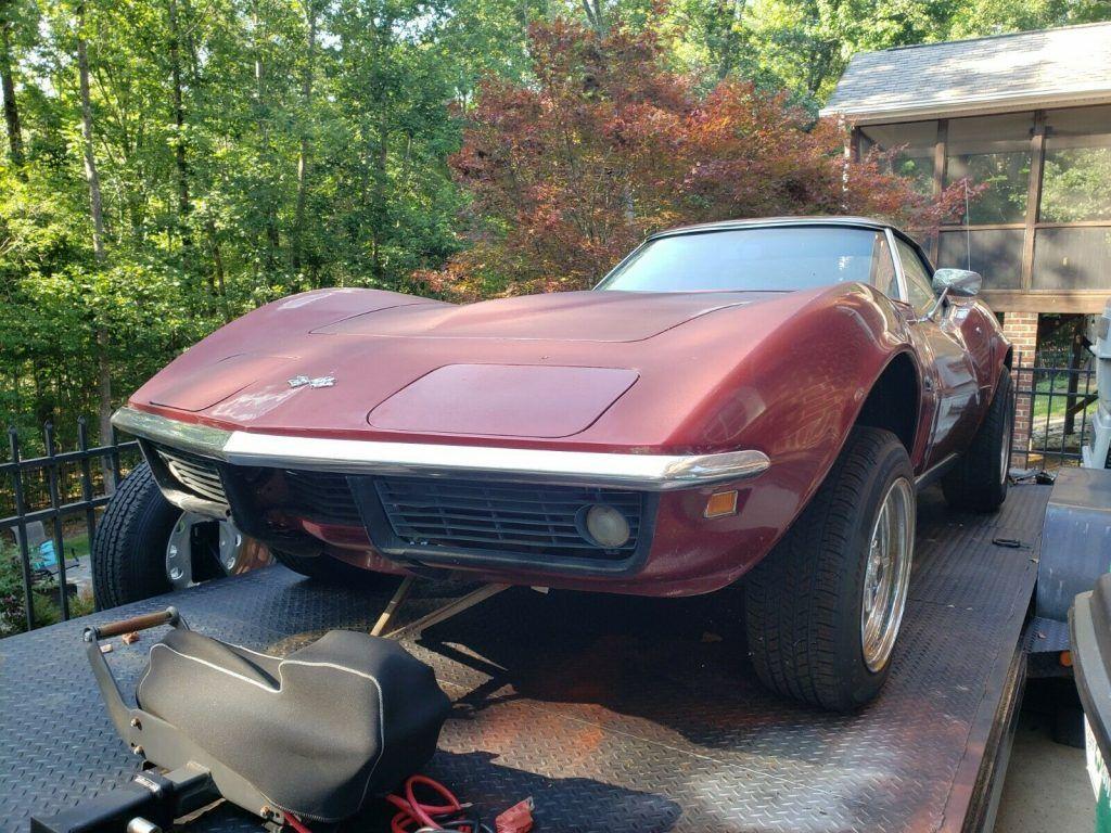 complete 1969 Chevrolet Corvette Convertible Project