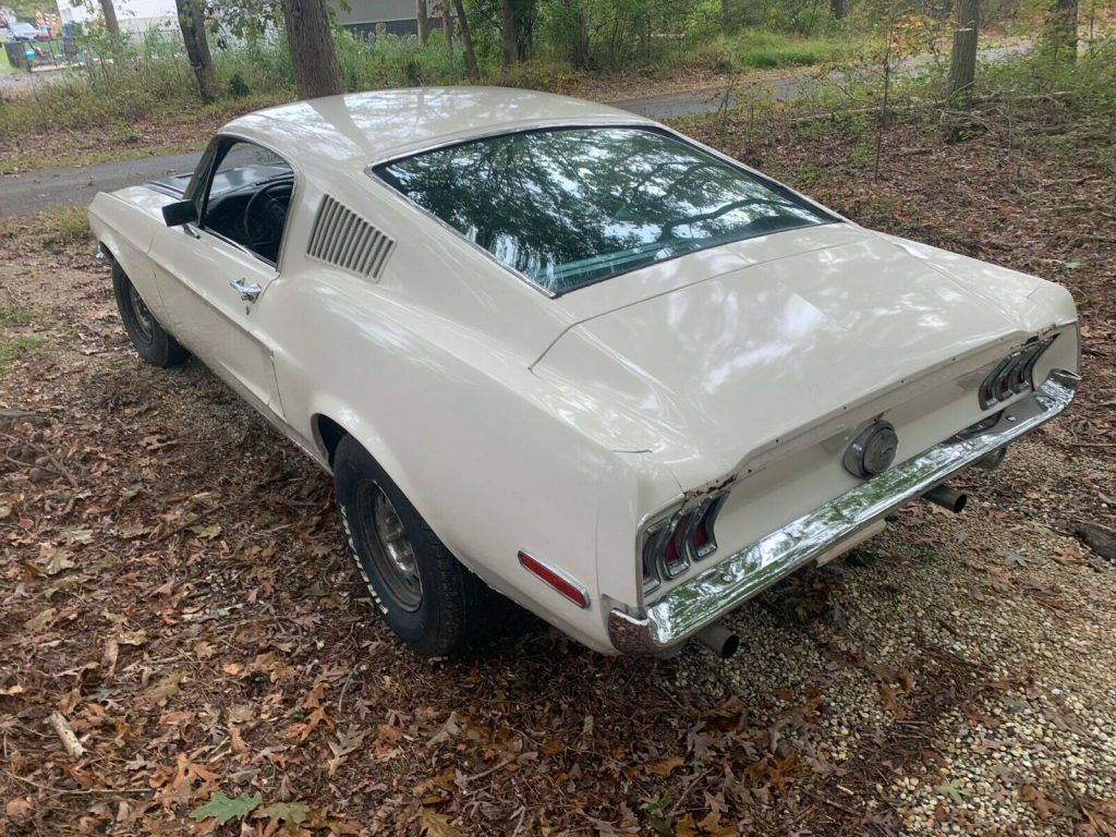 very solid 1968 Ford Mustang project