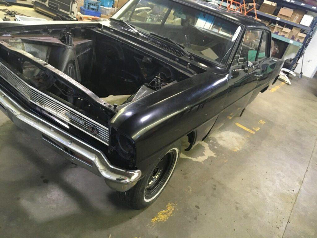 solid 1966 Chevrolet Nova project