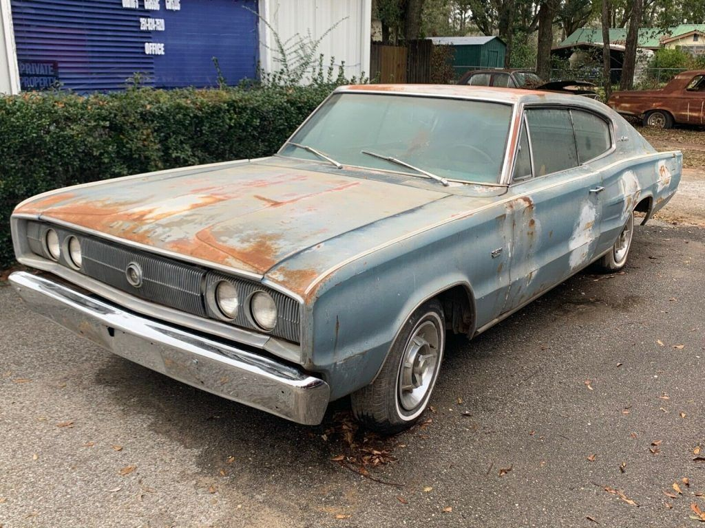 barn find 1966 Dodge Charger project