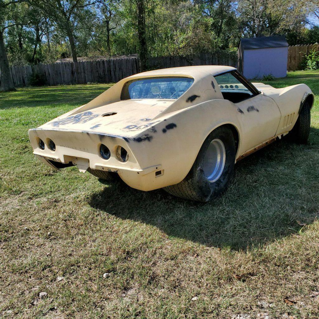 custom 1969 Chevrolet Corvette project