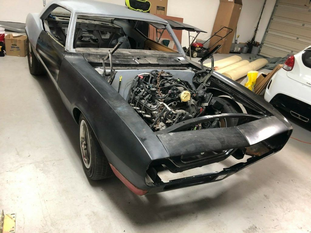 Lots Of Extra Parts 1967 Chevrolet Camaro Pro Touring LS Project