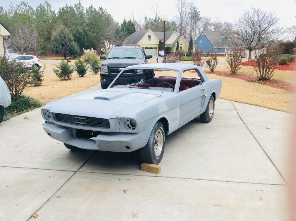 lots of work already done 1966 Ford Mustang project