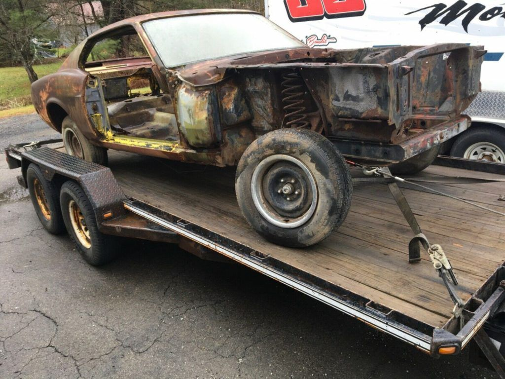 Mach 1 1970 Ford Mustang Project