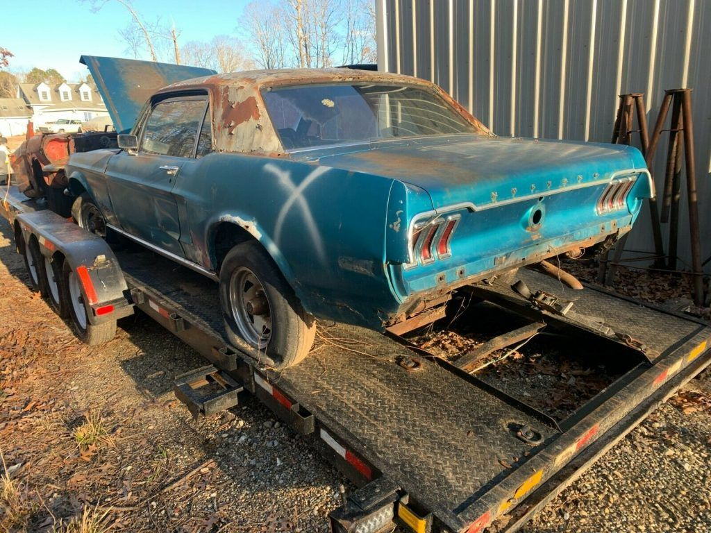 quite solid 1968 Ford Mustang Coupe PROJECT