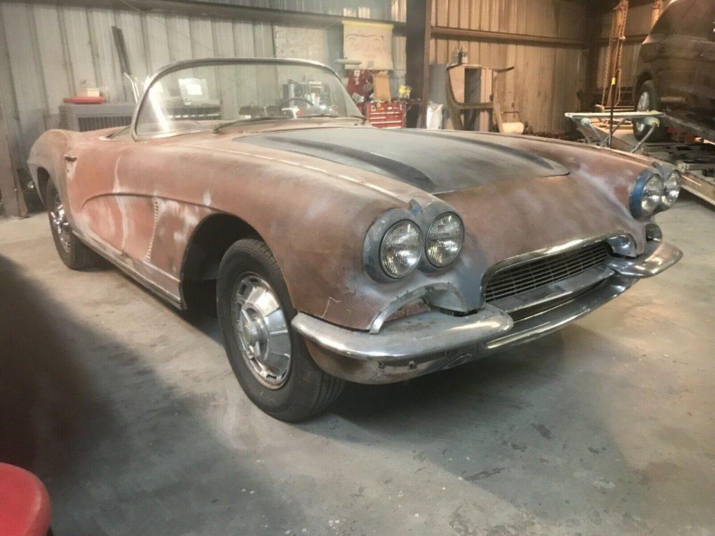 1962 Chevrolet Corvette project []