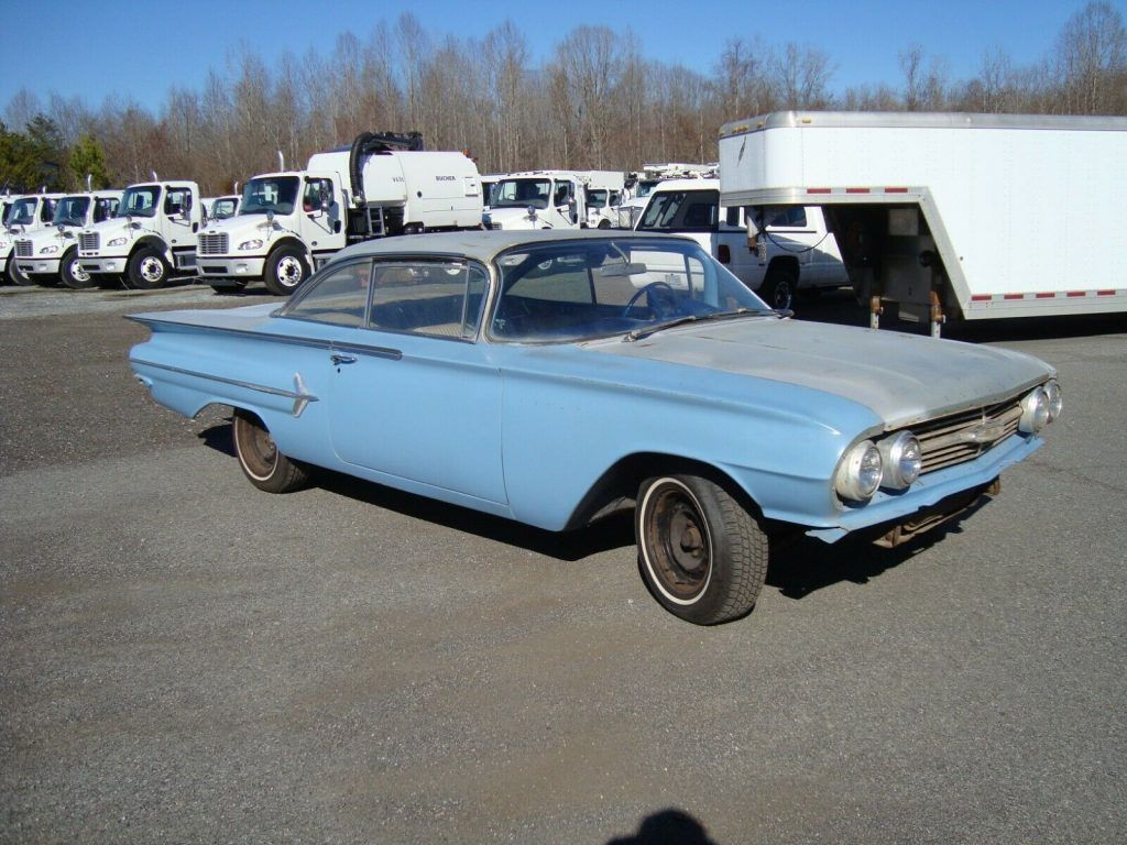 1960 Chevrolet Bel Air Bubbletop Coupe project [almost complete]
