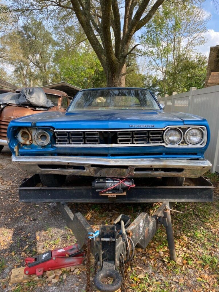 1968 Plymouth GTX project [solid panels]