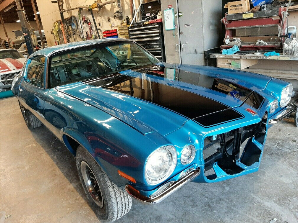 1970 Chevrolet Camaro RS project [many new parts]