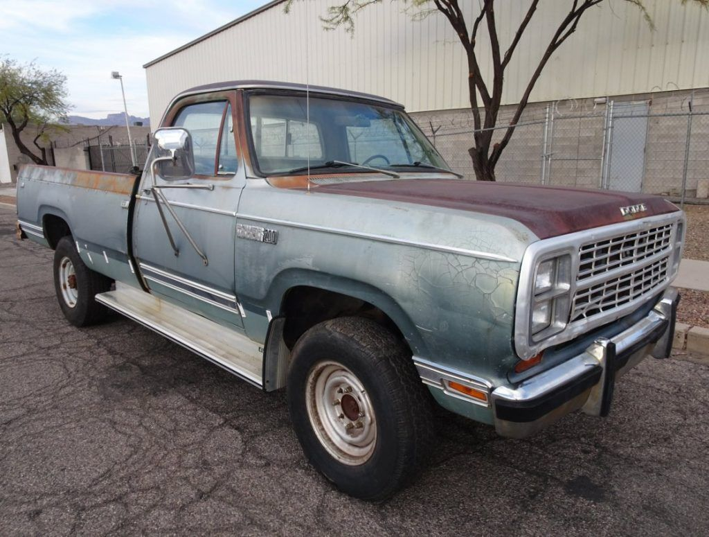 1979 Dodge Power Wagon pickup project [survivor with surface rust]